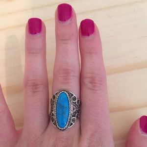 Gorgeous vintage turquoise ring